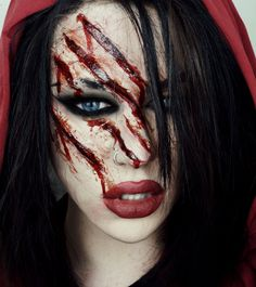 HALLOWEEN TUTORIAL | Little Dead Riding Hood