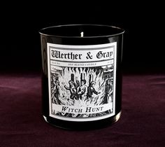 WITCH HUNT, Soy Blend Candle, 9 oz Tumbler