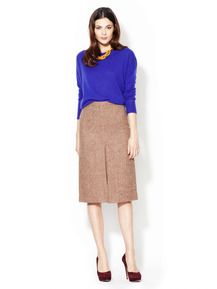 Roxy Wool Herringbone Pencil Skirt by Marc by Marc Jacobs - Found at #GiltLive via @GiltGroupe