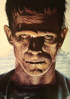 """♥This pic is reminiscent of another Karloff role in """"The Mummy."""""""