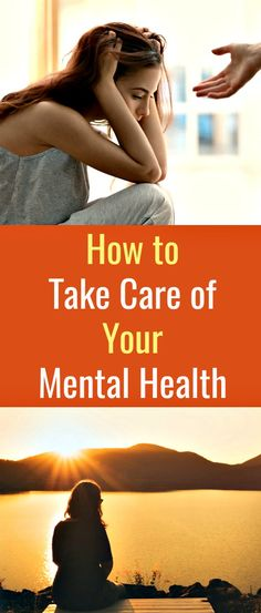 How to Take Care of Your Mental Health - A mental health issue is not to be taken lightly. Taking care of your mental health is just as important as taking care of your physical body. Women's Mental Health, Mental Health Awareness, Health And Wellbeing, Women's Health, Psych, Fitness Tips, Health Fitness, Womens Wellness, Healthy Women