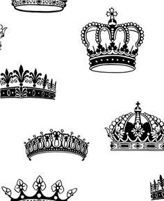 Crowns & Coronets | Princess Wallpaper | Princess Room