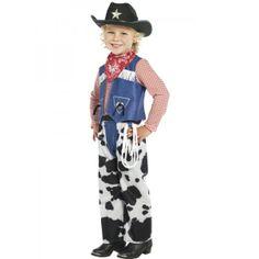 Ropin Cowboy Costume, Denim and Cowskin  : Get It On Fancy Dress Superstore, Fancy Dress & Accessories For The Whole Family. http://www.getiton-fancydress.co.uk/kidsteens/wildwildwestkidsteens/ropincowboycostumedenimandcowskin#.Uu07B_sry10