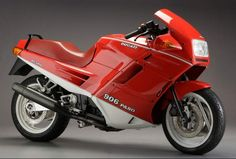 The 1989 Ducati 906 Paso has, at its heart, a liquid-cooled, four-stroke, 904cc, 90-degree V-Twin desmodromic powerhouse that was pai...