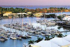 View of Darwin Harbour