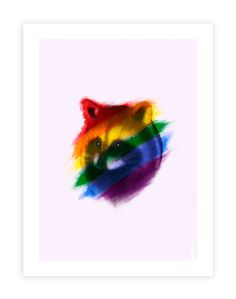 12 x 16 Special edition Toronto Raccoon illustration. Printed on premium matte paper. Raccoon Illustration, New Artists, Whimsical, Pride, Animal Decor, Watercolor, Canvas, Painting, Animals