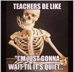 A teacher's struggle...