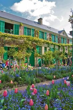 Monet's Garden, Giverny, France-rent a bike at the train station and ride out to the gardens