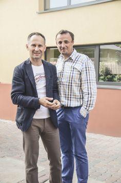 Krzysztof Panek i Michał Bartkowiak