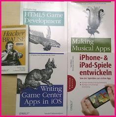 Der O'Reilly Verlag lässt sich nicht lumpen und spendiert der Verlosung beim MMT 31 jeweils zwei von den diesen Büchern! Dankeschön :-)