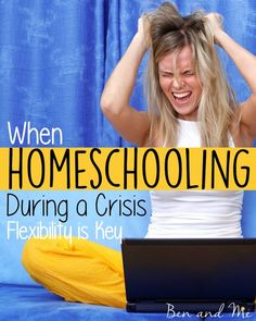 While homeschooling during a crisis can be challenging, the true crisis would be not having the flexibility to homeschool when these kinds of situations arise.
