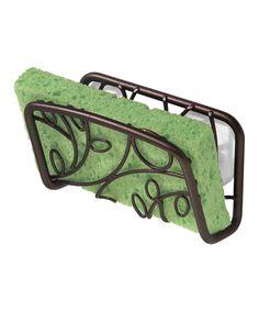 Look at this #zulilyfind! Bronze Twigs Suction Sink Cradle by InterDesign #zulilyfinds