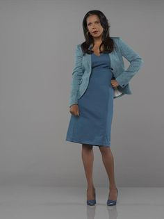 Penny Johnson Jerald as Captain Victoria Gates <3 At first I found Iron Gates off-putting, but I love her so much by now.