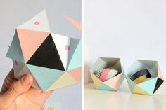 Printable Geometric Ball | 30 Pretty Printables for Summer Soirees