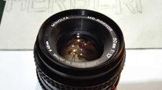 minolta md rokkor 50 mm f F 1, Photos, Camera Lens