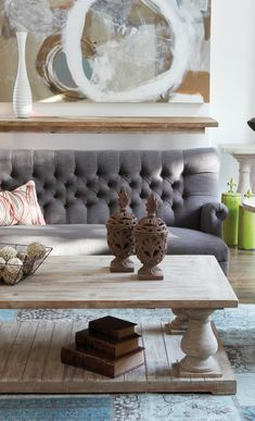 Rustic Living- modern and classic mix