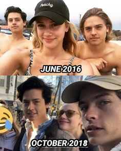 Cole spouse and Lili reinhart are cute🖤🖤 - Situsku Riverdale Quotes, Riverdale Funny, Bughead Riverdale, Riverdale Betty, Zack Y Cody, Cole Spouse, Lili Reinhart And Cole Sprouse, Dylan And Cole, Riverdale Cole Sprouse