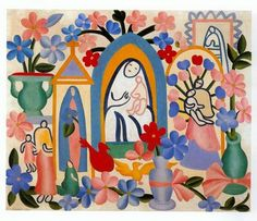 Tarsila do Amaral (1886 - 1973) - Religião Brasileira