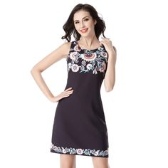 Print Tunic Women Elegant Dress //Price: $18.98 & FREE Shipping //     #fashion #dealyshopping #instagood #picoftheday #moda #gooddeals #deals #bestdeals #shoppingonline #blackfriday