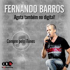 """Fernando Barros agora também no digital! Compre o álbum """"Te Obedecer"""" no iTunes: https://itunes.apple.com/br/album/te-obedecer/id673977244  #musicagospel #gospel #itbmusic #fernandobarros #teobedecer #iTunes"""