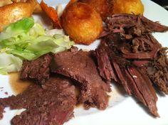 Pot roast beef topside