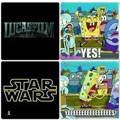 Me watching Star Wars