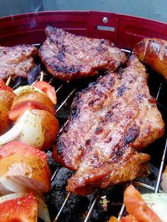 Bbq Grill, Grilling, Smoke Grill, Ketchup, Pork, Meat, Fire Pit Grill, Pork Roulade, Beef