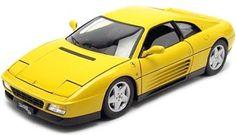 1990.- FERRARI 348 TB Amarillo (Elite V7437). Hot Wheels V7437