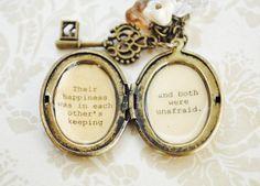 Anne of Green Gables  Women's Locket  Their by busybeezchickadeez, $32.00