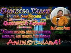 Khmer Buddhist Chanting | Dhamma Khmer Talk | San Sochea