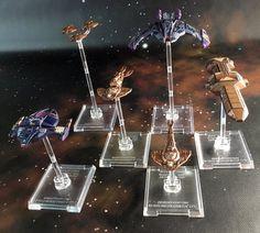 Star Trek Attack Wing Dominion Fleet © Richard Aguirre