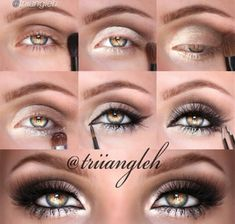 Smoky eye brought to a new level! This reminds me of a beautiful cheetah or tiger.