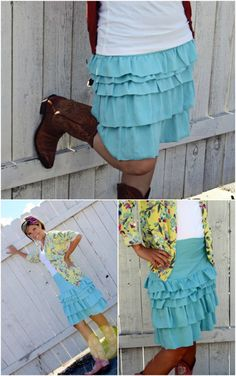 15 DIY Skirts Ideas For Crazy Summer