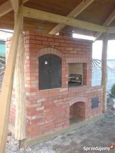 Diy Grill, Grill Oven, Brick Grill, Four A Pizza, Wood Oven, Backyard Pavilion, Rustic Pergola, Smoked Brisket, Wood Design