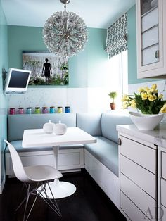 find this pin and more on a d charming and sophisticated breakfast nook - Small Kitchen Nook Ideas