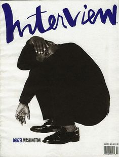 Hand Drawn / Interview July 1990. - Simple typography and imagery. This is good stuff. #cover