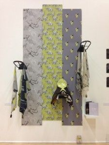 Textile designer Ellie Walton's final design show, with a little help from Bliss with the saddle! www.bliss-of-london.com/news