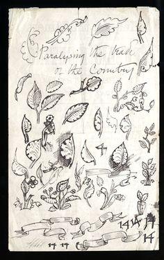 William Morris, Sketch, Study