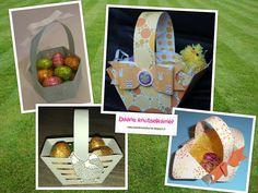 Daans knutselkamer: Leuke mandjes voor Pasen