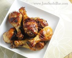 Sticky Sticks - Easy and delicious chicken drumsticks with a sticky, finger-licking-good glaze.