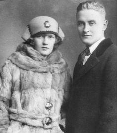 zelda and f scott fitzgerald's wedding portrait
