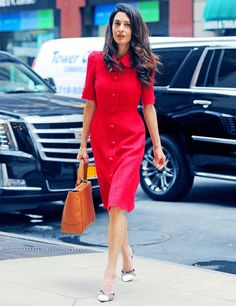 Amal Clooney's work wear never fails to impress.