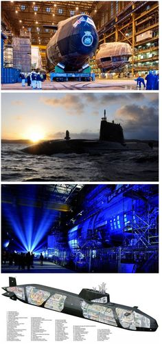 HMS Ambush, the second of the Royal Navy's new nuclear-powered 7,400 tonne Astute Class attack submarine, that is more complex engineering project than the space shuttle