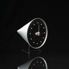 """Cone"" Model 2218 Table Clock, Howard Miller Clock Company, Designed by Irving Harper, 1954"