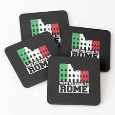 'take me back to rome' Coasters by mikenotis Cool Coasters, Coaster Design, Designer Socks, Canvas Prints, Art Prints, Take My, Rome, It Works, Finding Yourself