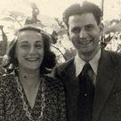 1946 - Bianca Guidetti Serra e Alberto Salmoni, due fra gli amici più stretti di Primo Levi.