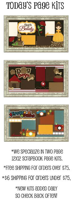 Out on a Limb - Scrapbooking Your Online Store For Scrapbook Page Kits