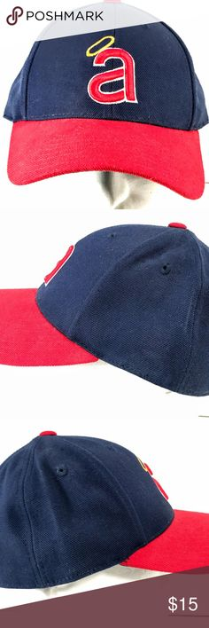 d79c9c4b6a5 Cooperstown Collection California Angels Cap Hat Cooperstown Collection  California Angels Baseball Dad Hat Cap CA -