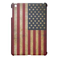 American Flag / Stars and Stripes iPad Mini Case  Available from zazzle.com/itsjensworld