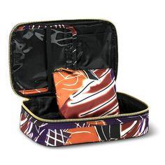 Sonia Kashuk® Cosmetic Bag Small Train Case Artwork : Target